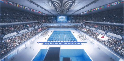 The Tokyo 2020 Olympic Pool