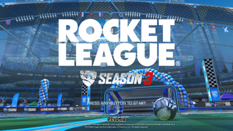 Rocket League Season 3 loading screen.