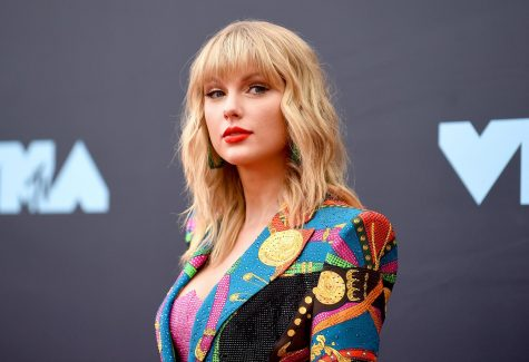 Taylor Swift at the 2019 VMA Awards.