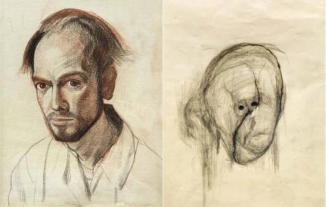 One Artist's Descent into Alzheimer's
